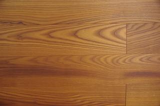 Deska podłogowa Jesion Thermo Koniak, podłoga lita