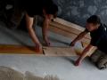 Podłogi drewniane, Deska podłogowa, dąb, olej szczotka, klasa Country, producent KACZKAN