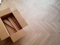 Jodełka klasyczna, Jodełka francuska na ogrzewanie podłogowe, Finishparkiet