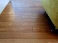 podłoga lita dąb Koniak