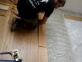 Deska podłogowa warstwowa, lakier, czterostronna faza.