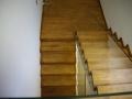 schody dębowe z drewna litego