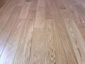 Deska podłogowa z litego drewna dębowego, lakier, kl. NATUR