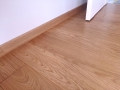 Deska podłogowa, lity dąb, listwy przypodłogowe, dąb, lakier, kl. NATURAL