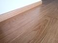 Podłoga z litego drewna, dąb, listwy z litego drewna dąb, lakier, kl. NATURAL
